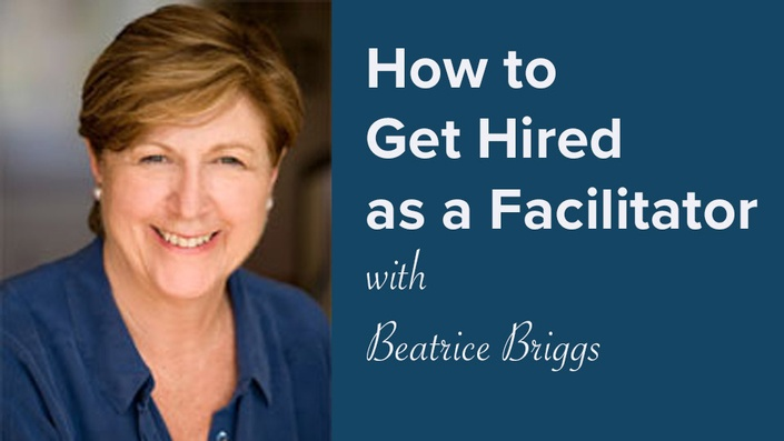 Get hired as a facilitator