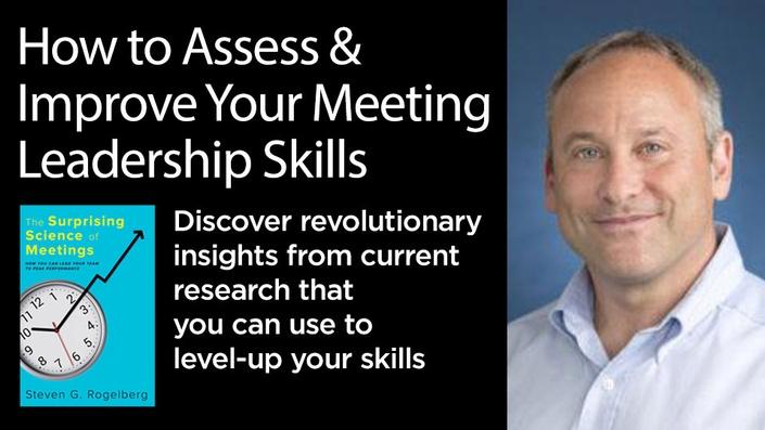 The science of meetings