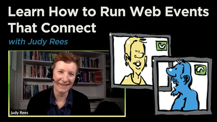 Virtual web events that connect